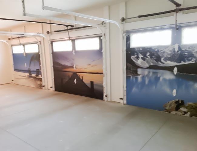 Custom Garage Door Graphics