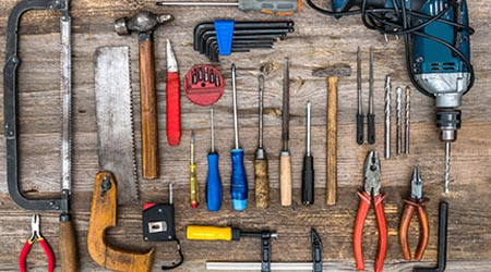 Garage Door Maintenance Tools